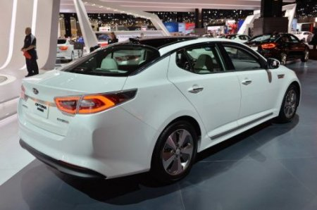 Расход топлива Kia Optima – Taxi Bolt